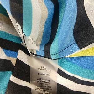 Calvin Klein Tops - Calvin Klein striped button tunic 1X